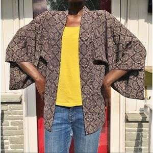 VINTAGE | Haori Kimono Duster Jacket